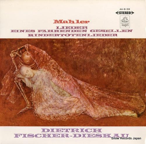 FISCHER-DIESKAU, DIETRICH mahler; lieder eines fahrenden gesellen AA.8159 - front cover