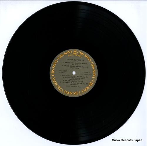 NAKAMURA, HIROKO chopin favorites 25AC1397 - disc