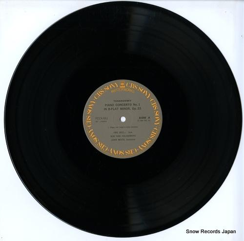 GILELS, EMIL / ZUBIN MEHTA tchaikovsky; piano concerto no.1 b-flat minor, op.23 FCCA661 - disc