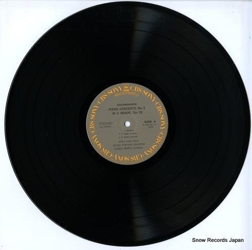 LICAD, CECILE rachmaninov; piano concerto no.2 in c minor, op.18 FCCA662 - disc