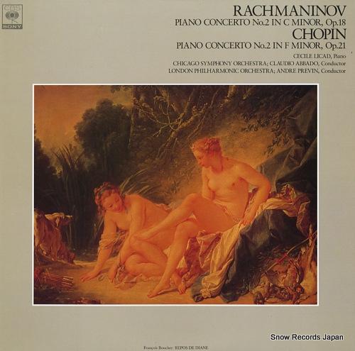 LICAD, CECILE rachmaninov; piano concerto no.2 in c minor, op.18 FCCA662 - front cover
