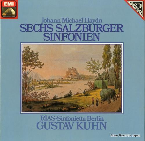 KUHN, GUSTAV haydn; sechs salzburger sinfonien 1C157-99757/58T - front cover