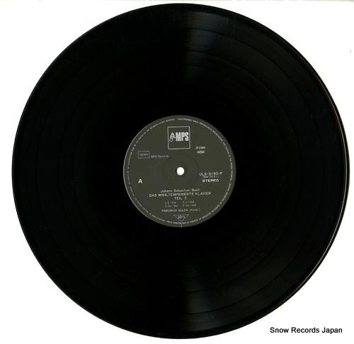 GULDA, FRIEDRICH bach; das wohltemperierte klavier ULS-3190-3-P - disc