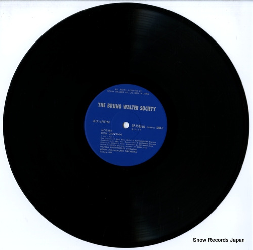 FURTWANGLER, WILHELM mozart; don giovanni OP-7509-12-BS - disc