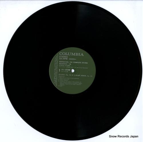 SCHAFFER QUARTET beethoven; the complete string quartets.10 HRS-1520-MU - disc