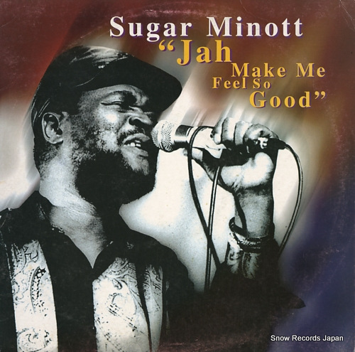 MINOTT, SUGAR jah make me feel so good EXTLP4 - front cover
