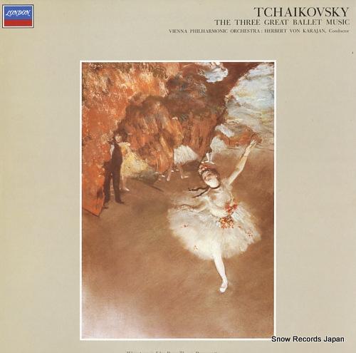 KARAJAN, HERBERT VON tchaikovsky; the three great ballet music FCCA7001 - front cover