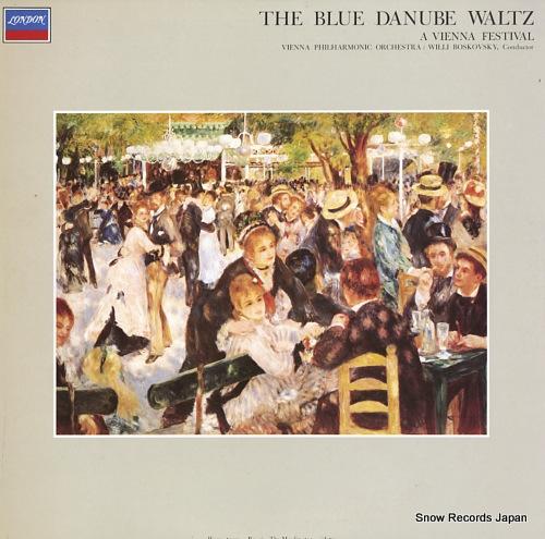 BOSKOVSKY, WILLI j.strauss ii; the blue danube waltz / a vienna festival FCCA7003 - front cover