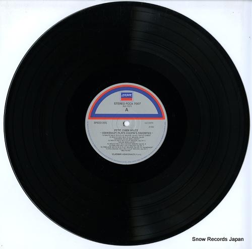 ASHKENAZY, VLADIMIR chopin; petit chien waltz / ashkenazy plays chopin's favorites FCCA7007 - disc