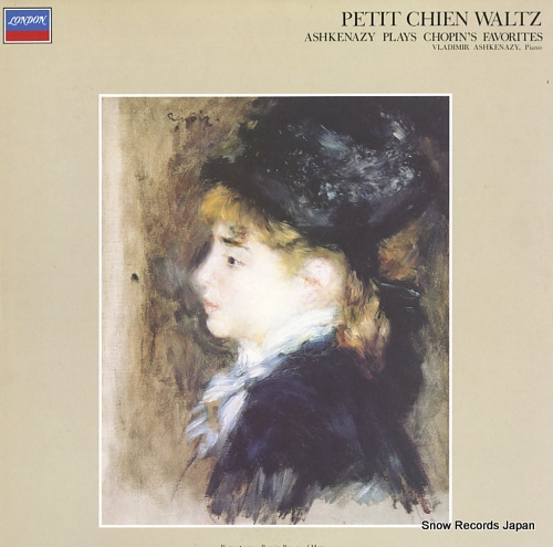 ASHKENAZY, VLADIMIR chopin; petit chien waltz / ashkenazy plays chopin's favorites FCCA7007 - front cover
