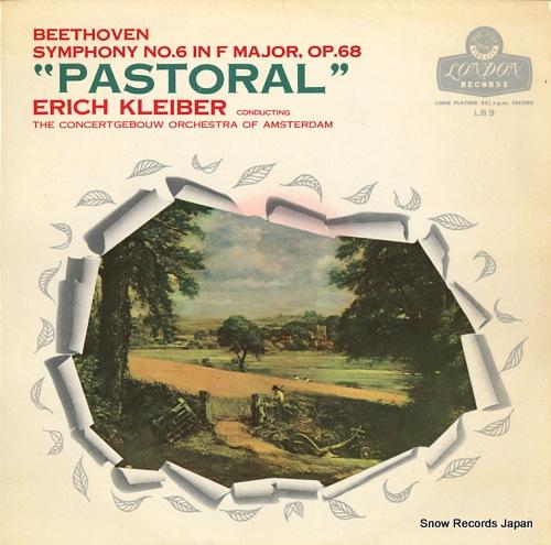KLEIBER, ERICH beethoven; symphony no.6 in f major, op.68