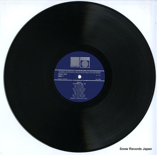 ASHKENAZY, VLADIMIR chopin; studies SAGA5293 - disc