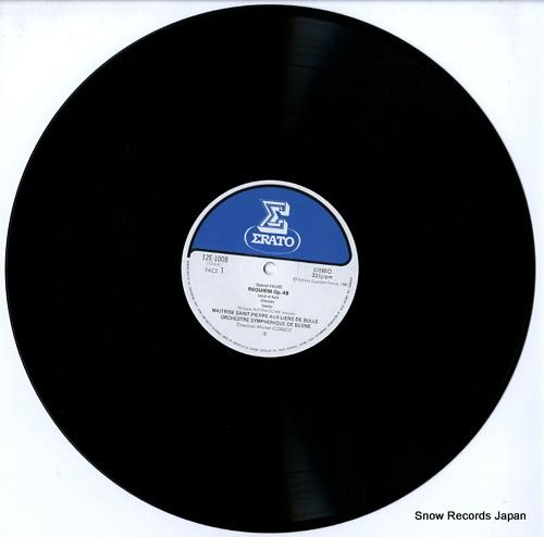 CORBOZ, MICHEL faure; requiem 12E-1008 - disc