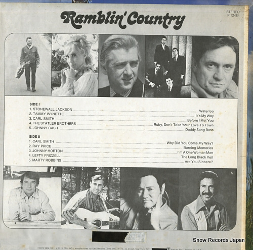 V/A ramblin' country P12484 - back cover