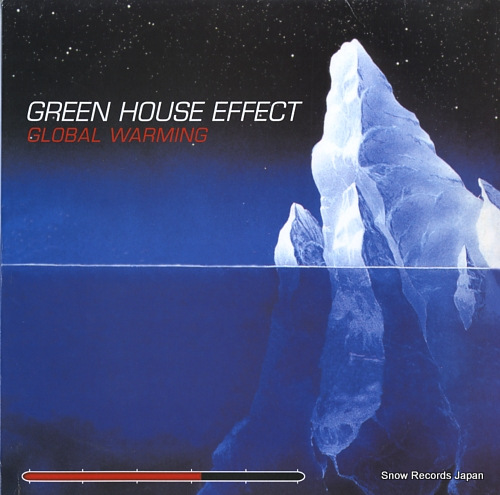GREEN HOUSE EFFECT global warming BALLLP18 - front cover