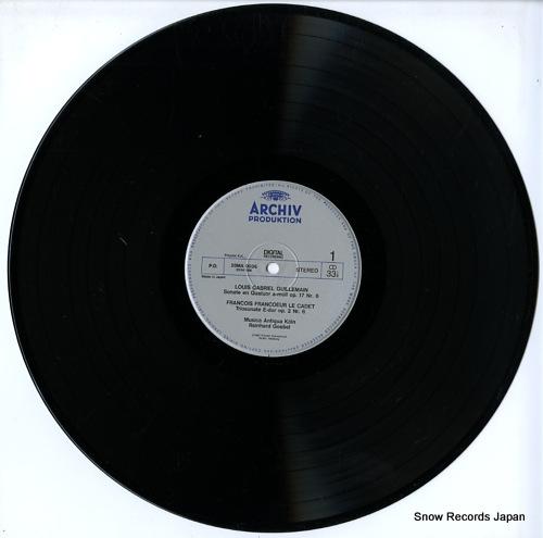 MUSICA AUTIQUA KOLN conversation galante / french rococo music 28MA0036 - disc