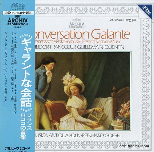 MUSICA AUTIQUA KOLN conversation galante / french rococo music 28MA0036 - front cover