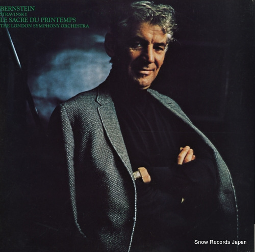 BERNSTEIN, LEONARD stravinsky; le sacre du printemps SOCP6 - back cover