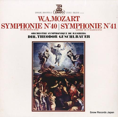 GUSCHLBAUER, THEODOR mozart; symphonie no.40 and 41