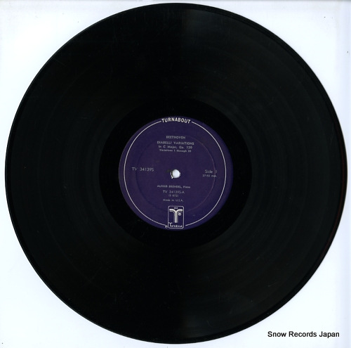 BRENDEL, ALFRED beethoven; diabelli variations TV34139S - disc