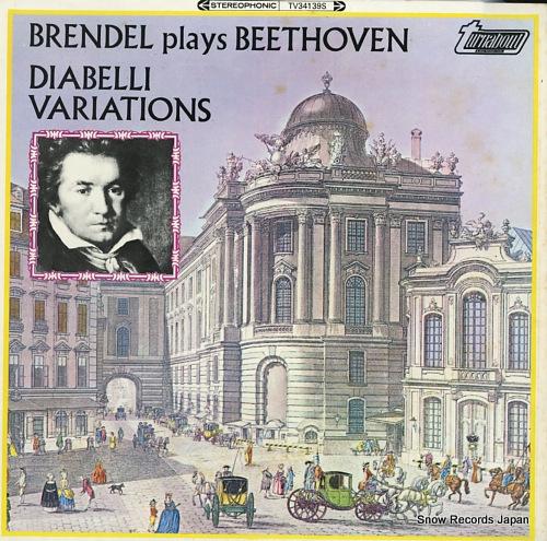 BRENDEL, ALFRED beethoven; diabelli variations TV34139S - front cover