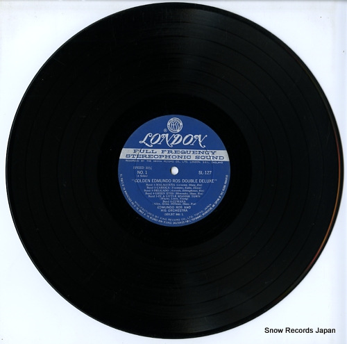 ROS, EDMUNDO golden edmundo ros double deluxe SL127-8 - disc