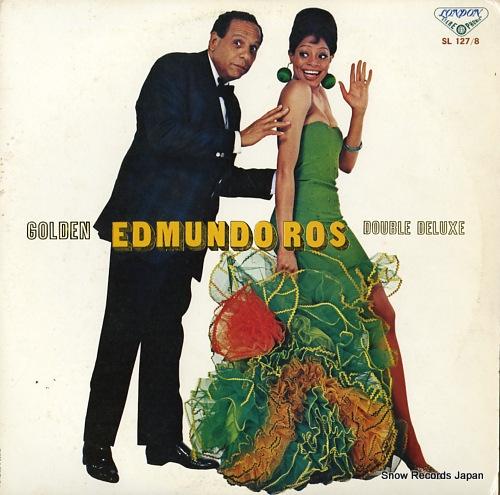 ROS, EDMUNDO golden edmundo ros double deluxe SL127-8 - front cover