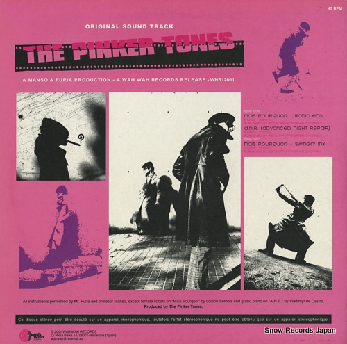 PINKER TONES, THE mais pourquoi? WNS12001 - back cover
