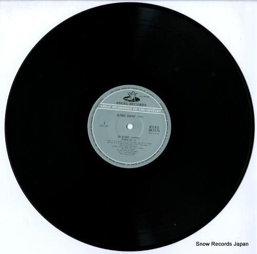 CORTOT, ALFRED chopin; 24 etudes GR-2176 - disc