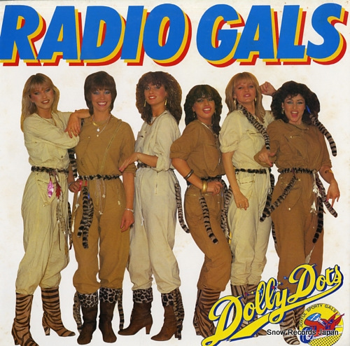 DOLLY DOTS radio gals 28.3P-300 - front cover