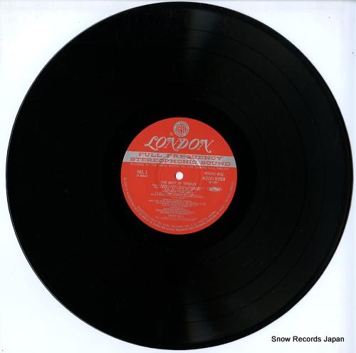 TEBALDI, RENATA the best of tebaldi K20C9359 - disc
