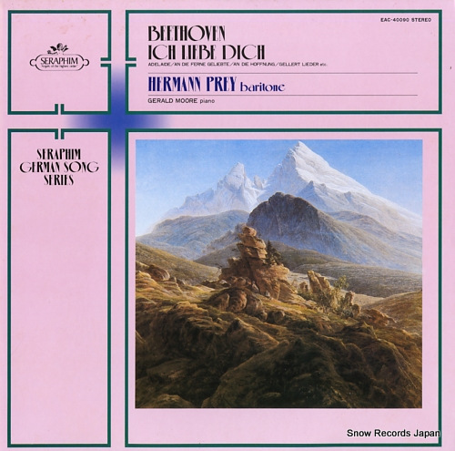 PREY, HERMANN beethoven; ich liebe dich EAC-40090 - front cover