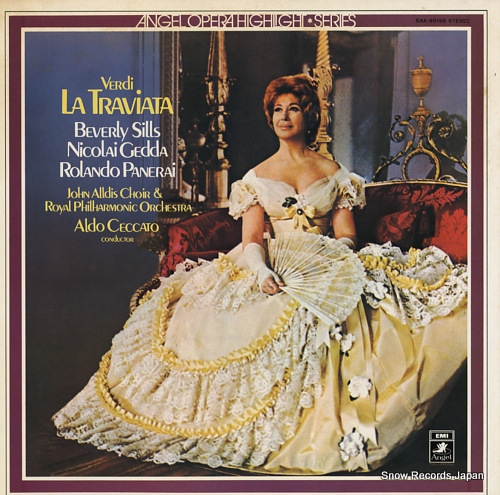 CECCATO, ALDO verdi; la traviata EAA-80198 - front cover