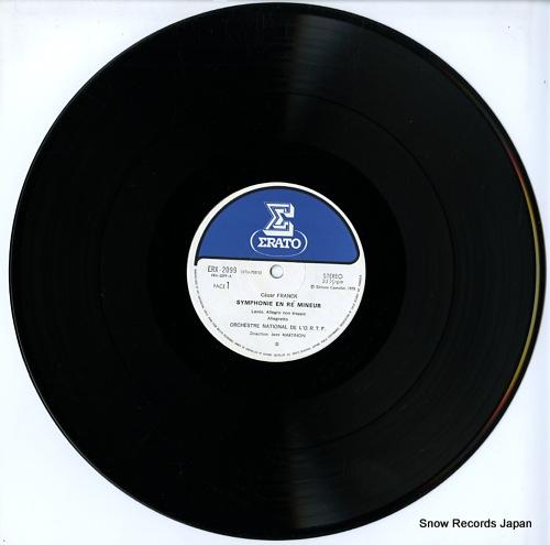 MARTINON, JEAN franck; symphonie en re mineur ERX-2099 - disc