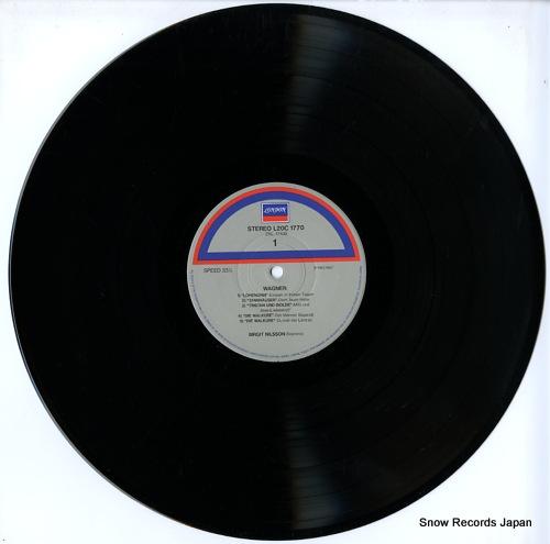 NILSSON, BIRGIT wagner; die walkure L20C-1770 - disc