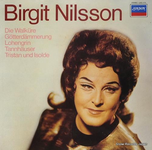 NILSSON, BIRGIT wagner; die walkure L20C-1770 - front cover