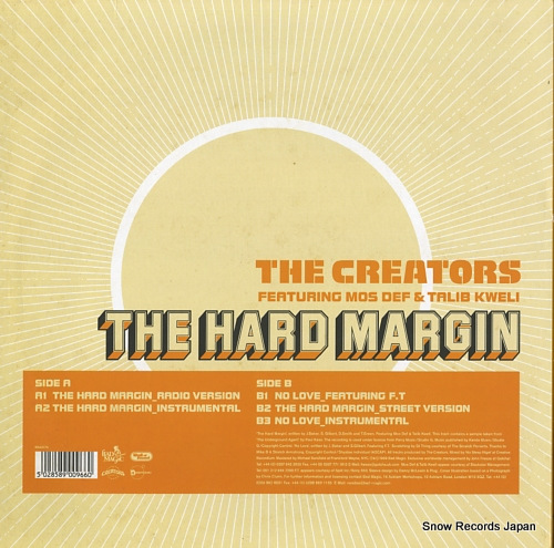 CREATORS, THE the hard margin MAGICT6 - back cover