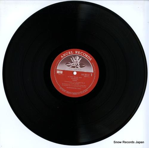 RUBINSTEIN, ARTUR chopin; polonaise no.1-no.7 EAC-30147 - disc