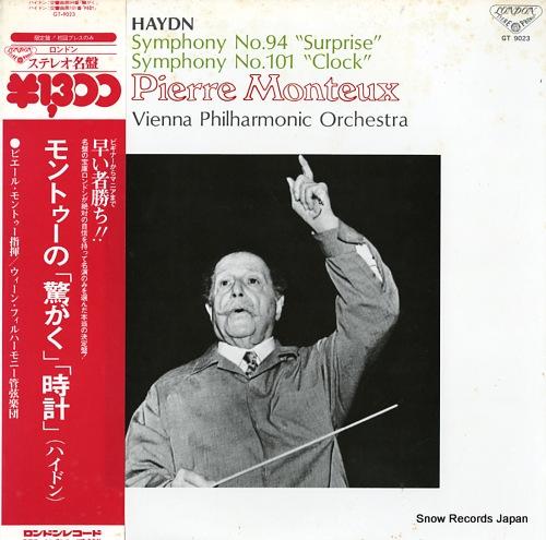 MONTEUX, PIERRE haydn; symphony no.94