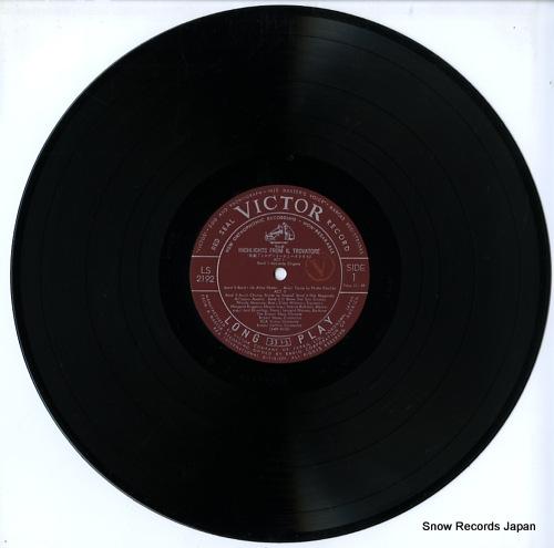 CELLINI, RENATO verdi; il trovatore (highlights) LS-2192 - disc