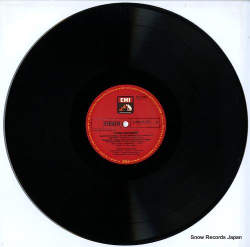 BRANDIS QUARTETT BERLIN schubert; streichquartett es-dur / quartettsatz c-moll 1C065-30829 - disc