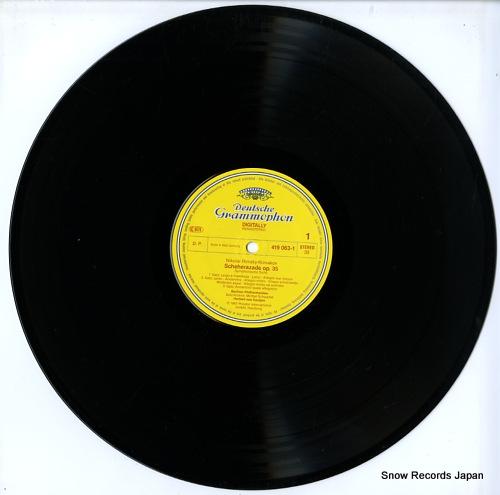 KARAJAN, HERBERT VON rimsky-korsakov; scheherazade 419063-1 - disc