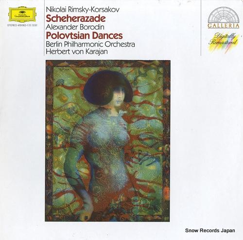 KARAJAN, HERBERT VON rimsky-korsakov; scheherazade 419063-1 - front cover