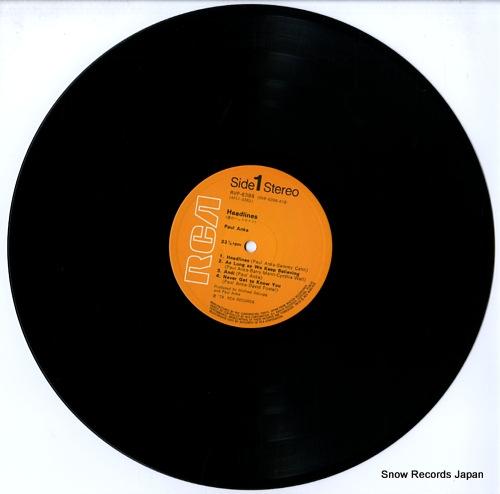 ANKA, PAUL headlines RVP-6398 - disc
