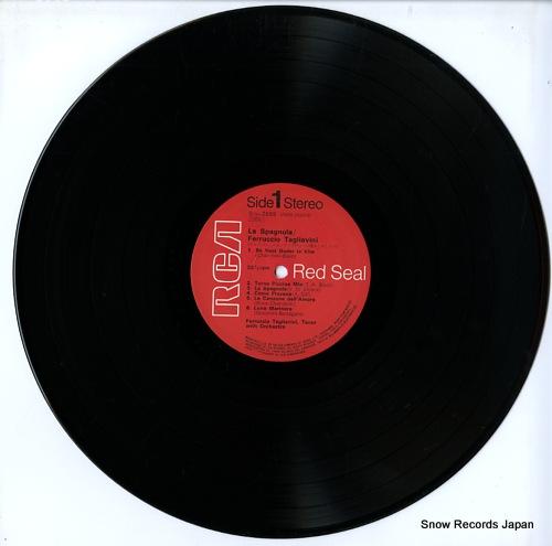 TAGLIAVINI, FERRUCCIO la spagnola SRA-2688 - disc