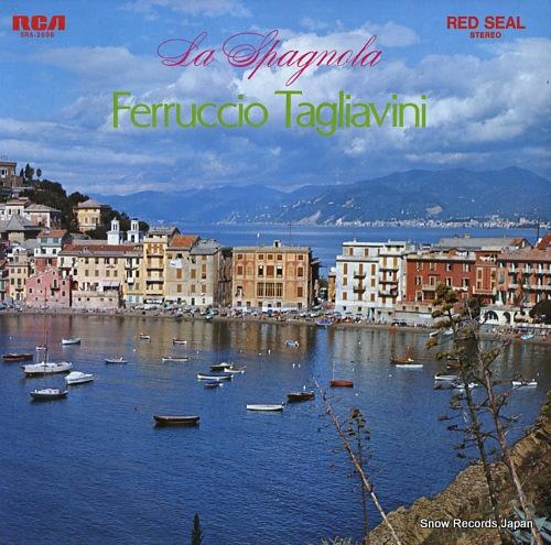 TAGLIAVINI, FERRUCCIO la spagnola SRA-2688 - front cover