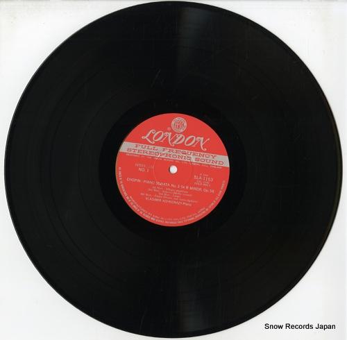 ASHKENAZY, VLADIMIR chopin; piano sonata no.3 in b minor SLA1153 - disc