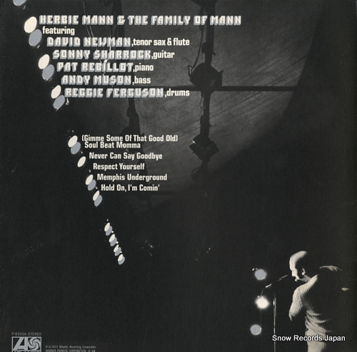 MANN, HERBIE hold on, i'm comin' P-8335A - back cover