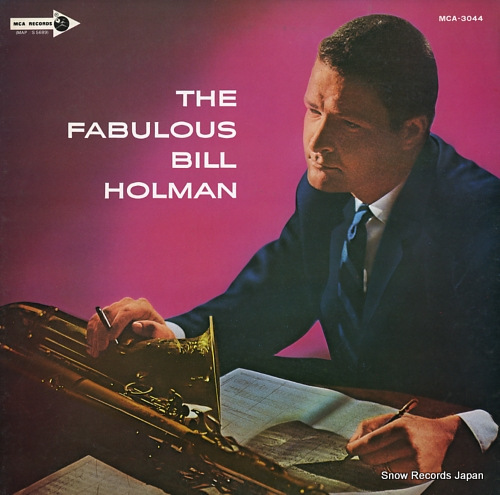 HOLMAN, BILL the fabulous MCA-3044 - front cover