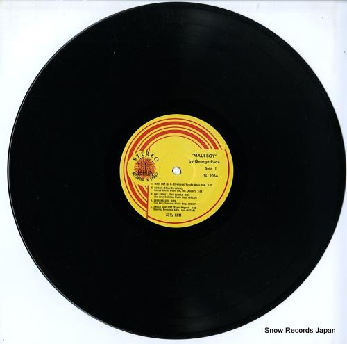 PAOA, GEORGE maui boy SL2066 - disc